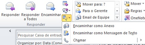 Respondendo emails com recursos de Lync