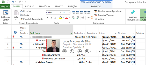 Integration Lync 2013 with Project 2013