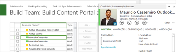 Integration Lync 2013 with Project 2013C