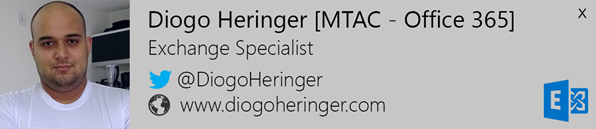 New Email Diogo Heringer  Outlook 2013 and Windows 8
