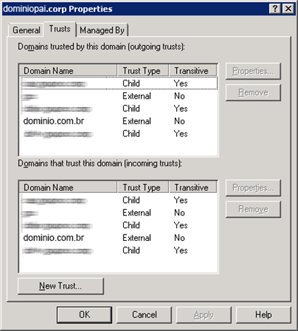 Domains and Trusts
