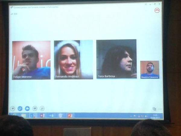 Videoconferência Lync 2013