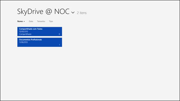 Configurando o SkyDrive Pro App para Windows 8 - 9