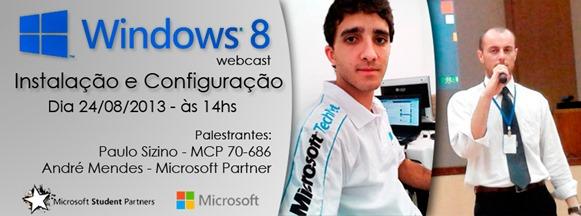 Evento Windows 8 - Instalação e Configuração