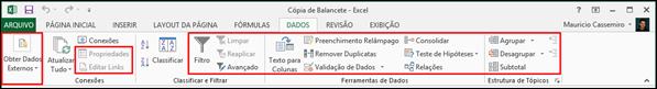 Guia Dados Excel
