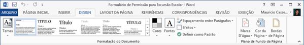 Guia Design Word