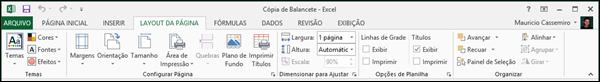 Guia Layout de Pagina Excel
