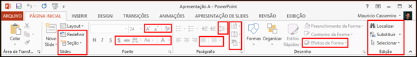 Guia Pagina Inicial PowerPoint