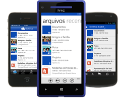 SkyDrive App Mobile