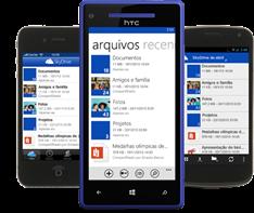 SkyDrive App Mobile