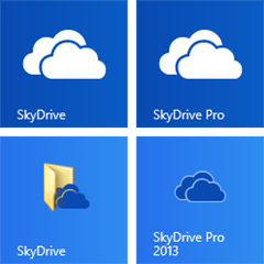 SkyDrive no Windows 8