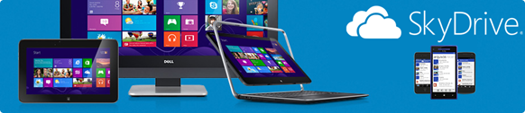 Windows 8   SkyDrive Banner