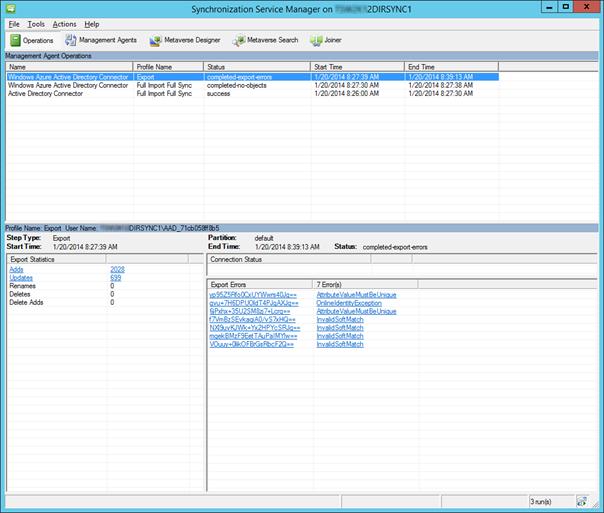 Synchronization Service Manager - FIM 2010 R2