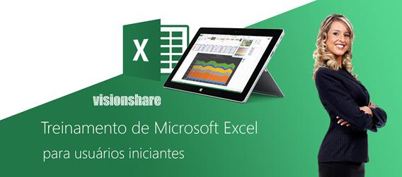 Banner Treinamenro Básico de Excel