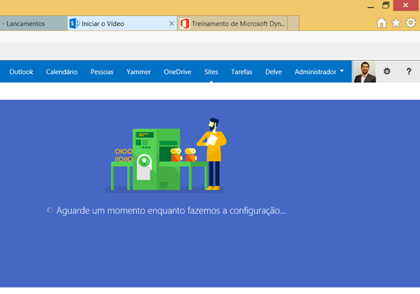 Habilitando o Office 365 Vídeo