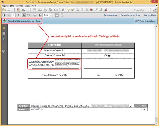 Documento Assinado Digitalmente - Validado