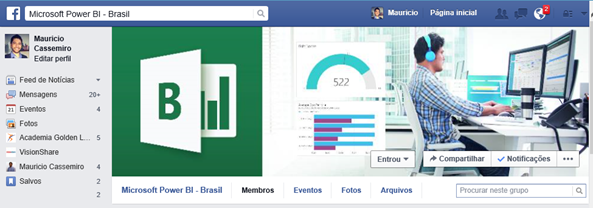 Power BI - Brasil - Facebook