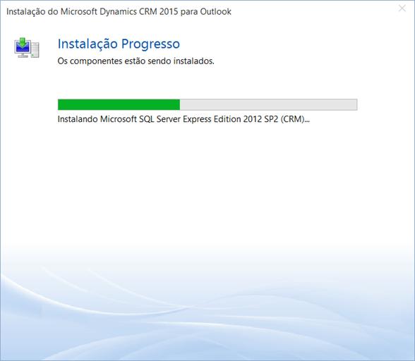 Instalando SQL Server Express 2012 SP2...