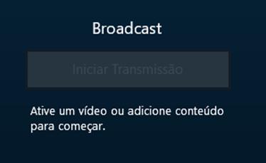 Notificação Broadcast