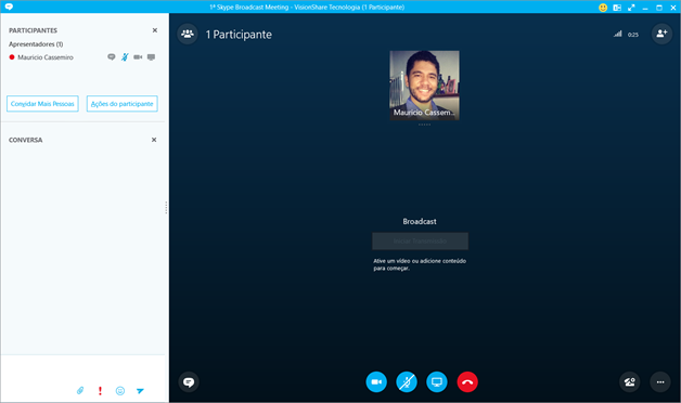 Skype Meeting Broadcast no client Skype for Business 2016