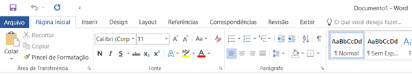 Word 2016 - Tema Branco (Office 2013)