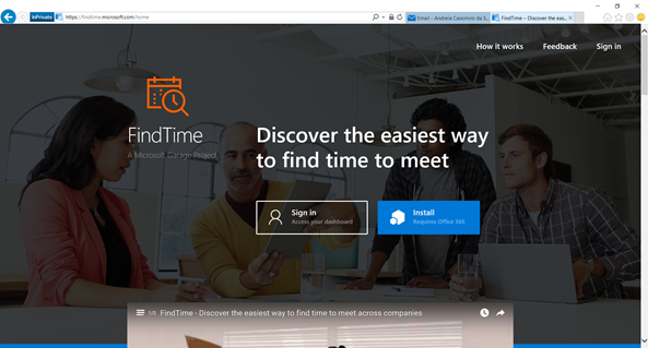 Microsoft FindTime - Inatall