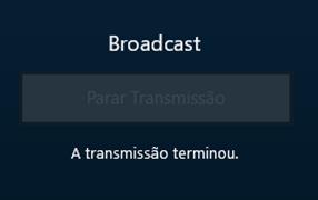 Término de transmissão