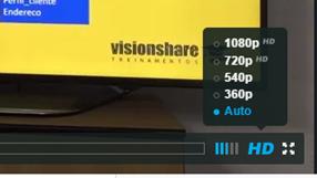Vídeos em alta resolução