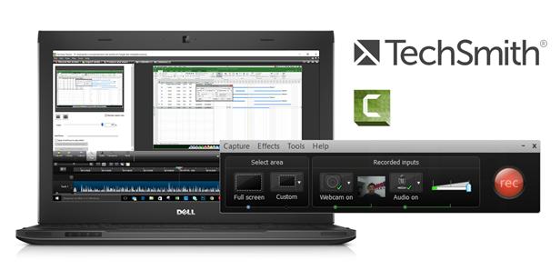 Renderização profissional com o Camtasia Studio da TechSmith